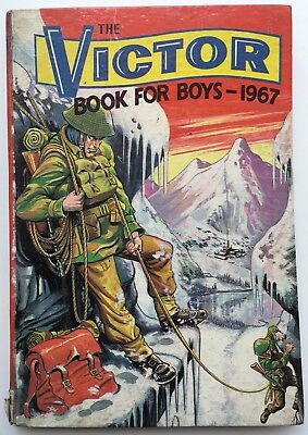 Victor Book For Boys Annual 1967