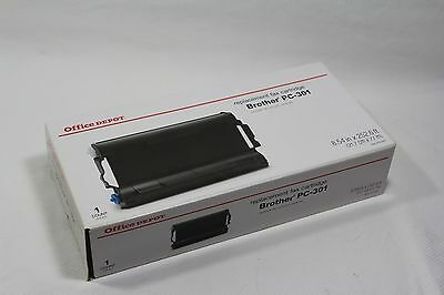 OFFICE DEPOT BROTHER Replacement Fax Cartridge PC-301 New In Box