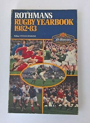 Rothmans rugby yearbook 1982 - 83 (399 pages)
