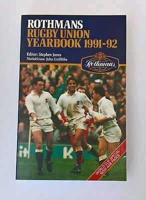 Rothmans rugby union yearbook 1991 - 92 (448 pages)