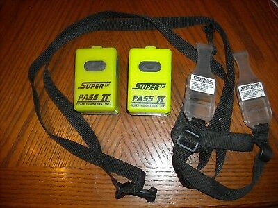 2 Grace Super Stand Alone Pass Devices Scba Air Pak Firefighter