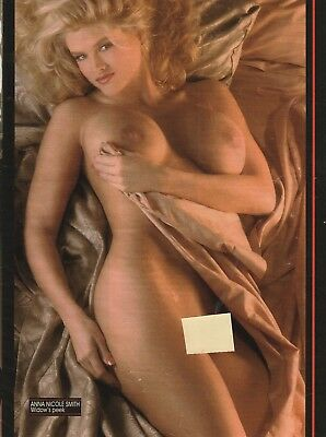 ANNA NICOLE SMITH  Original Playboy Playmate  Pin-Up from 1991