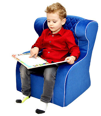 Pro Cosmo stable comfy foam quilted armchair for kids children toddlers chair