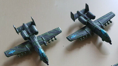 "Micro Machines Military ""Woodland"" A-10 Thunderbolt"