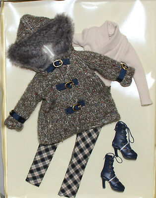 """Orig. Wilde Bitter Cold Outfit for 16"""" Ellowyne or Pru or Amber Doll"""