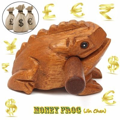 Guiro Rasp Money Frog Wooden Block Decompress Toys Musical Instrument