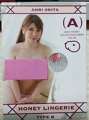 Juicy honey  ANRI OKITA HONEY LINGERIE CARD TYPE B 39 JAPAN F/S