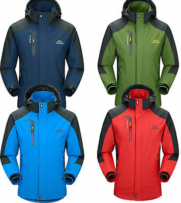 5XL Trespass Corvo Mens Waterproof Windproof Breathable Walking Jacket 4 Colors