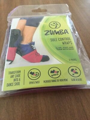 Zumba Sole Control Wraps Fits Any Size Shoe