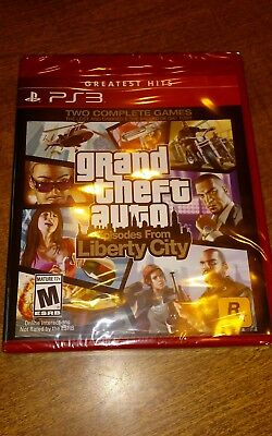 Grand Theft Auto: Episodes From Liberty City PS3! Factory Sealed! 9 Copies!