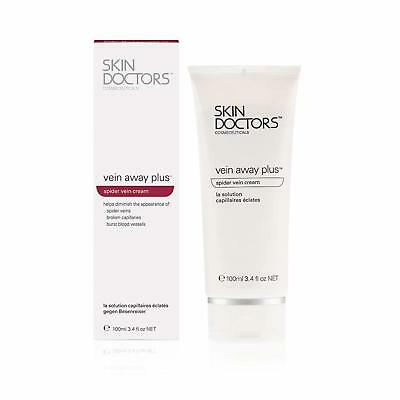 Skin Doctors Vein Away Plus with Vitamin A, Arnica, Allantoin, helps The appeara