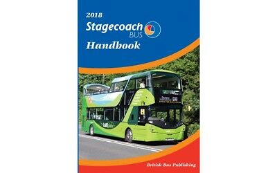 2018 Stagecoach Bus Handbook by BBP BRAND NEW OUT BRAND NEW