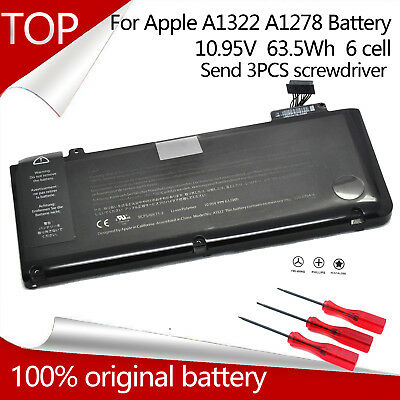 "OEM Genuine Original Macbook Pro 13"" A1278 2009 2010 2011 2012 battery A1322 New"