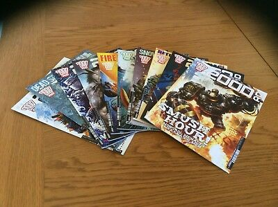 2000 ad comics  in prog sequence starting Jan 2018 onwards in batches of 10.