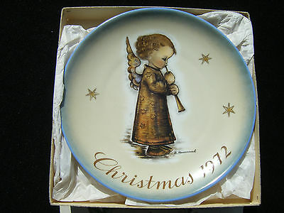 Schmid 1972 Hummel Christmas Plate w/BOX - Never Displayed - Plate is MINT