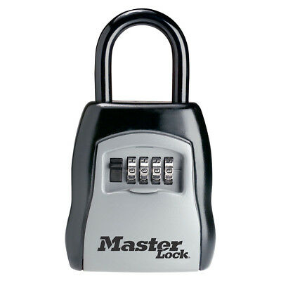 Master Lock Box, Make Your Own Combo Portable Key Safe, 3-1/4 in. Wide (5400D)
