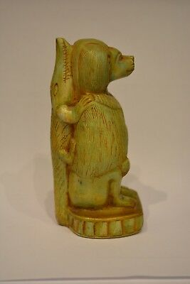 Rare Ancient Egyptian Baboon Statue / Thoth Statue God Of Wisdom