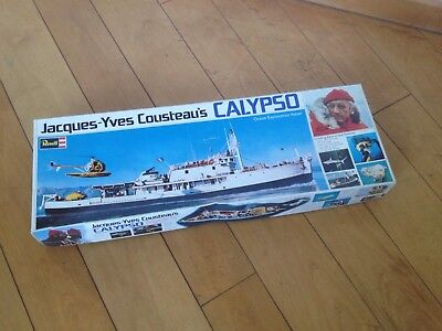 Revell H-575 3800 Jacques - Yves Cousteau's Calypso Baukasten aus 1976