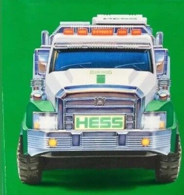 2017 Hess Dump Truck And Loader New In Original Shipping Box