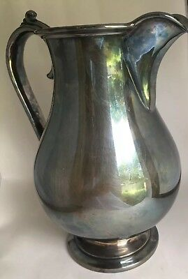 Vintage Reed & Barton Pitcher Silverplate 5480