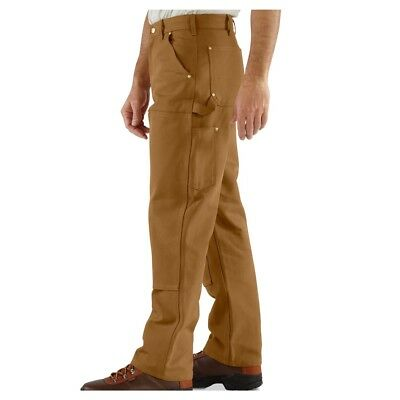 Carhartt Duck Double Front Work Dungaree Pants 52X30 Loose Original Fit NEW B01
