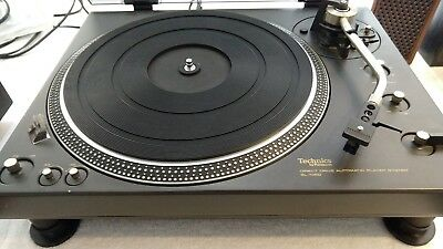 Technics Direct Drive SL-1350 Serviced, Sumiko Oyster MM Cart  See Video