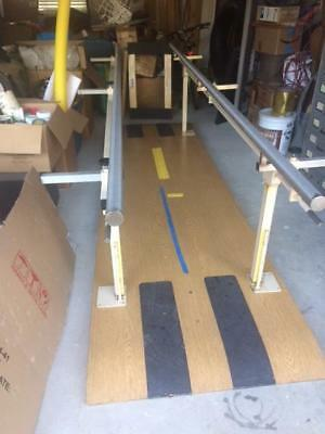 Physical Therapy Bariatric Parallel Bars LaBerne MFG.