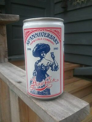 1983 Pepsi Cola Steel Can Bank 75 Anniversary Carolina Canners S.C. 12 Oz