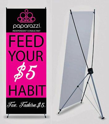 Paparazzi Jewelry Banner - Vendor Show - Printed