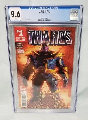 Marvel Comics Thanos #1 CGC 9.6 White Pages 1/17 pre Cosmic Ghost Rider