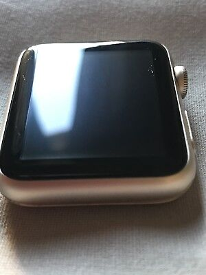 SUPER GREAT CONDITION! Apple watch 1st Generation 42mm Gold Aluminum