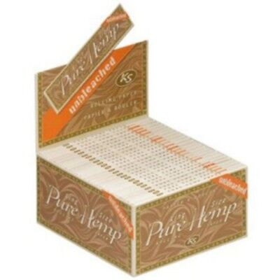 Pure Hemp Brand Cigarette Rolling Papers Various Variations by eTrendz