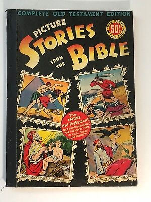 1943 Picture Stories From The Bible M.C. Gaines Complete Old Testament Edition