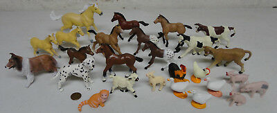 26 Farm Animal Lot by Safari: 10 Horses, 3 Cows, 2 Dogs and more!