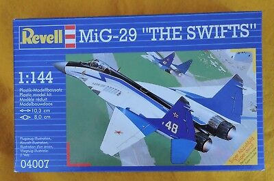 "MiG-29 ""THE SWIFTS"" 1:144 von Revell neu !!!"