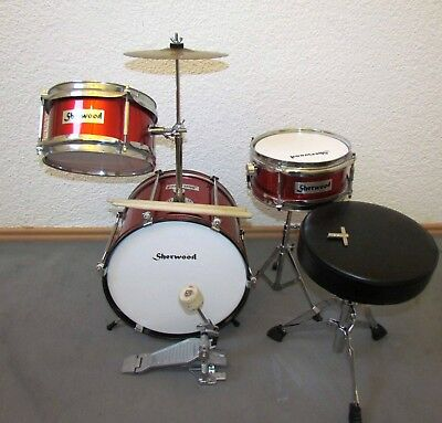 Kinderschlagzeug Junior Drum (Sherwood)