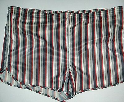 Vintage Mens Trax silky Stretchy Swim Trunks Bathing Suit 60's 1970's Swimsuit