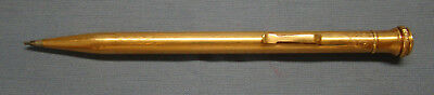Vintage Used Wahl Eversharp Pencil Patented Gold Filled