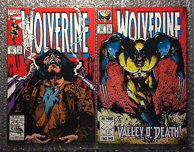 Wolverine #66 & #67 - MARK TEXEIRA ART WITH X-MEN APPEARANCES - Modern Age LOT!