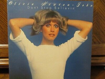 """Olivia Newton-John """"Don't Stop Believin'"""" MCA Long Play Record in EX Condition"""