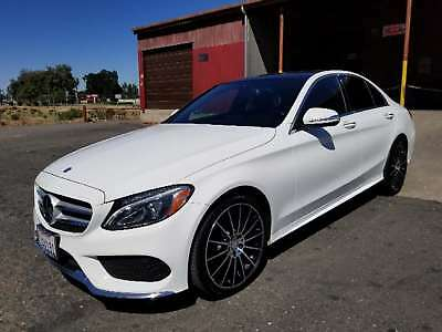 "2015 Mercedes-Benz C-Class C300 2015 Mercedes-Benz C-Class C 300 4MATIC AWD 4dr Sedan "" 1 owner Fully upgrade!!"