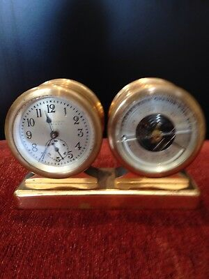 Chelsea Ships Clock And Barometer