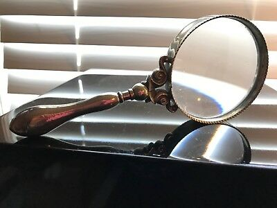 Solid Silver Handled Magnifying Glass