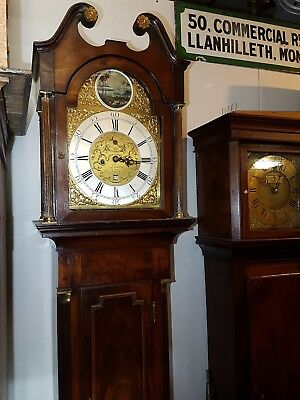 18th C 8 DAY LONGCASE CLOCK Carlisle very nice clock