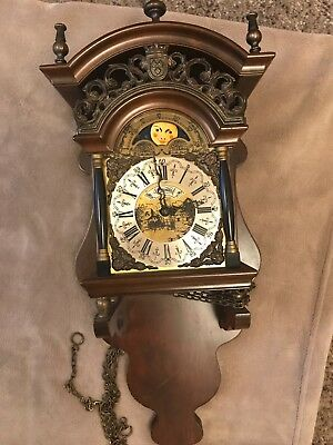 Warmink Dutch Sallander Wall clock Good condition