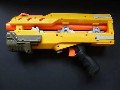 NERF Longshot CS-6 Front Barrel Extension Attachment Gun 4 Darts