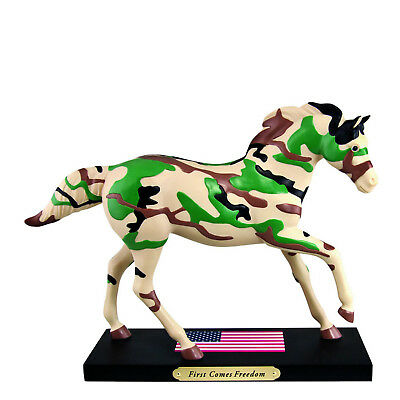 NEW! Enesco The Trail Of Painted Ponies First Comes Freedom 4035094 Cameo