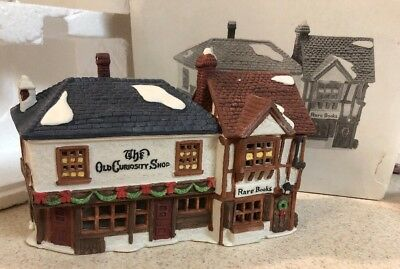 "Dept 56 Dickens' Village ""The Old Curiosity Shop"" #5905-6 Retired  MIB"