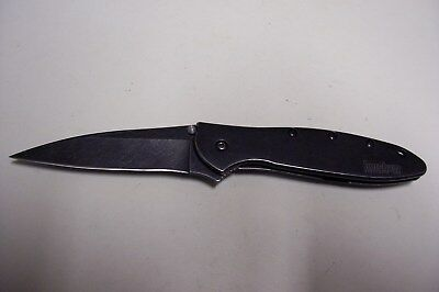 Kershaw 1660BLKW Leek Ken Onion Plain Edge SpeedSafe Assisted Opening Knife