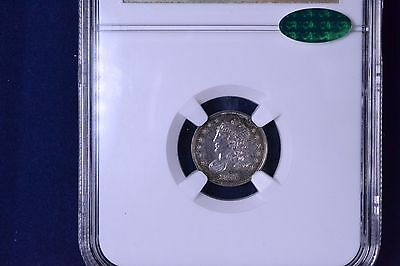 1837 H10C Capped Bust Half Dime Uncirculated NGC & CAC MS 62 3739762-005